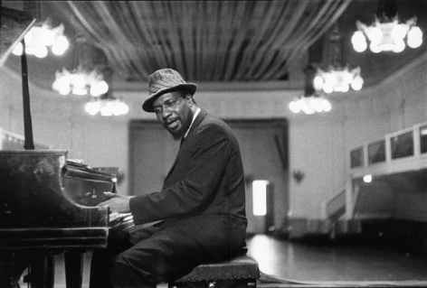 Thelonious Monk (at Piano), San Francisco, No.2, 1961, 16 X 20 Silver Gelatin Photograph, Edition of 25