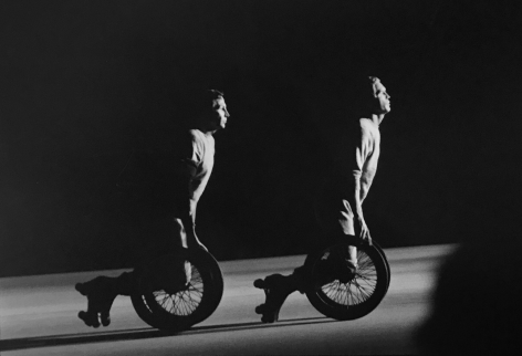 Robert Rauschenberg Performance, (on wheels), (Later Print, made in Artist's lifetime), 1966