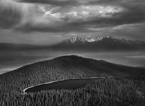 Kluane National Park, Yukon, Canada 2011, 16 x 20 inches, Silver Gelatin Photograph