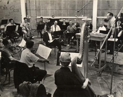 Frank Sinatra at Rehearsal, 16 x 20 Silver Gelatin Photograph