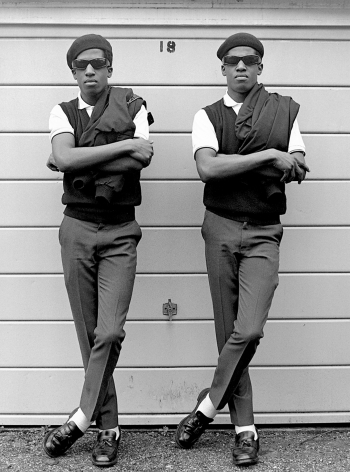 Rude Boys, Chuka and Dubem, London, 1981, 20 x 16 inches - Archival Pigment Print - Edition of 50