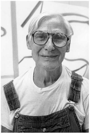 William de Kooning, East Hampton, NY, 1985, 10 x 8 Silver Gelatin Photograph