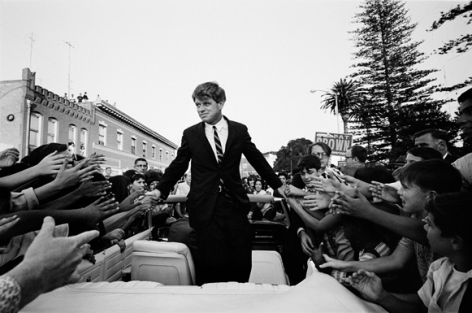 Robert Kennedy Campaign, California, 1966, Silver Gelatin Photograph