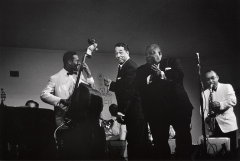 The Duke Ellington Orchestra with Jimmy Rushing, Las Vegas, 1960, 16 x 20 Silver Gelatin Photograph, Edition of 25