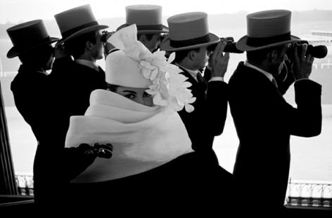 Givenchy Hat, for JDM, Paris, France (c), 1958