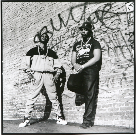 Eric B and Rakim 1987, 20 x 16inches - Archival Pigment Print - Edition of 50