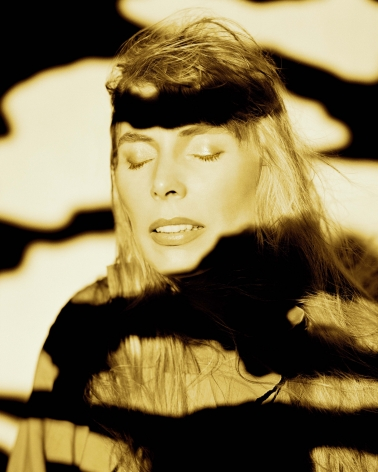 Joni Mitchell, Cloud Portrait, Los Angeles, 1991, Archival Pigment Print