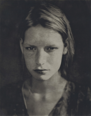 Kirsten Crying, Paris, Studio 9 rue Paul Fort, 1990, Polaroid Print