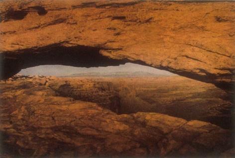 Mesa Arch, 1992, 24-1/2 x 35-5/8 Fresson Print, Ed. 15