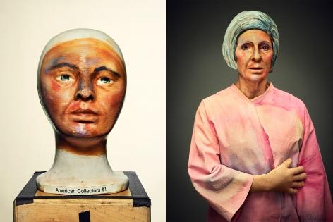 Hockney, American Collectors (Marcia Weisman), 2016, Diptych, Archival Pigment Print