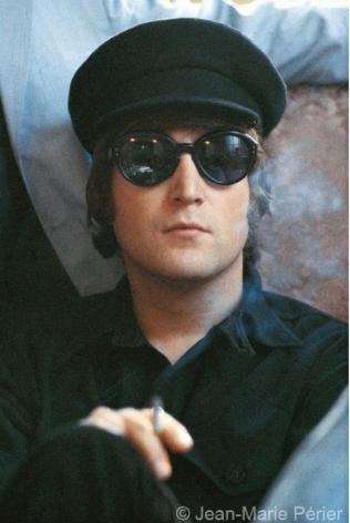 John Lennon, portrait, Paris, May 1965, C-Print