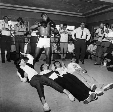 Cassius Clay and the Beatles, Miami 1964