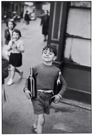 Rue Mouffetard, 1954, 11 x 14 Silver Gelatin Photograph