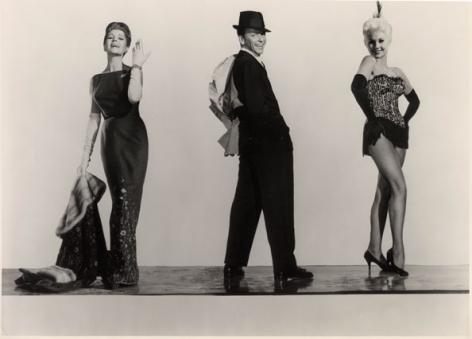 "Rita Hayworth, Frank Sinatra & Kim Novak, ""Pal Joey,"" 1957, 10-11/16 x 13-9/16 Vintage Silver Gelatin Photograph"
