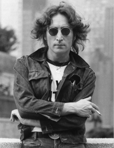 John Lennon with Denim Jacket, New York City, 1974