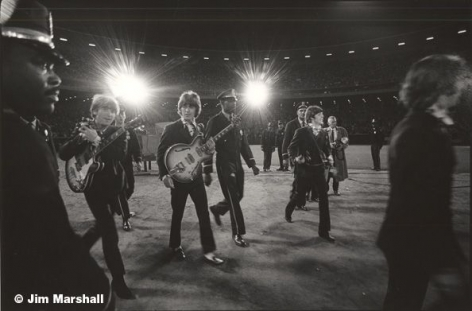 The Beatles (Taking the Stage at Candlestick), San Francisco, 1966, 11 x 14 Silver Gelatin Photograph