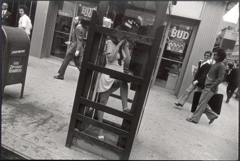 New York, 1968 or 1972, 11 x 14 Silver Gelatin Photograph