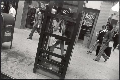 New York, 1968 or 1972, 11 x 14 Silver Gelatin Photograph