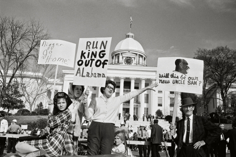 Run King Out of Alabama, 1965, 16 x 20 Inches, Silver Gelatin Photograph, Edition of 25