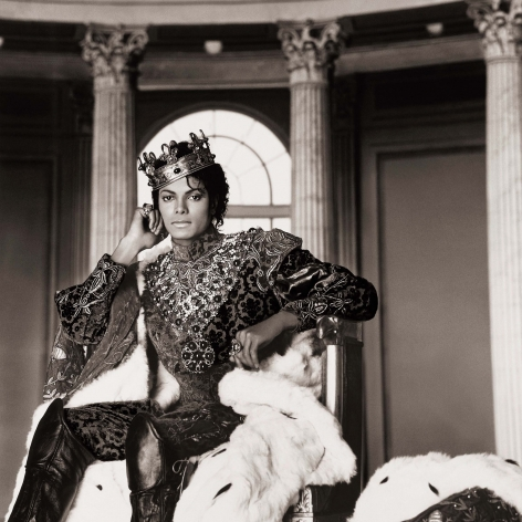 Michael Jackson, King, Los Angeles, 1985, Archival Pigment Print