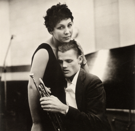 William Claxton - Chet Baker and Lili, Hollywood, 1955