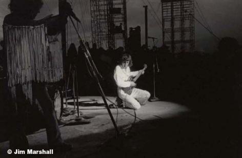 Pete Townsend, Woodstock, 1969, 11 x 14 Silver Gelatin Photograph
