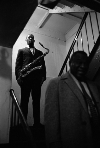 Sonny Rollins, Apollo Theatre, NY, 1961, Silver Gelatin Photograph