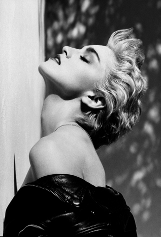 Madonna, True Blue, Hollywood, 1986, 24 x 20 Inches, Silver Gelatin Photograph, Edition of 25