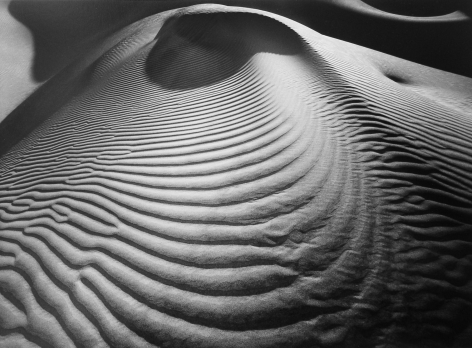 Dune Dome, 2002, 22 x 28 Inches, Silver Gelatin Photograph