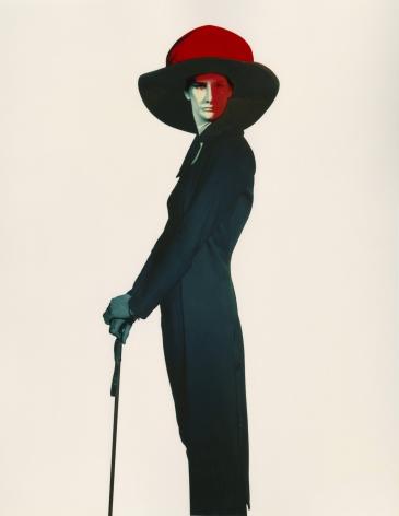 Miss Sasha Robertson, Studio 9 rue Paul Fort, Paris, 1985, Dye-Transfer Print