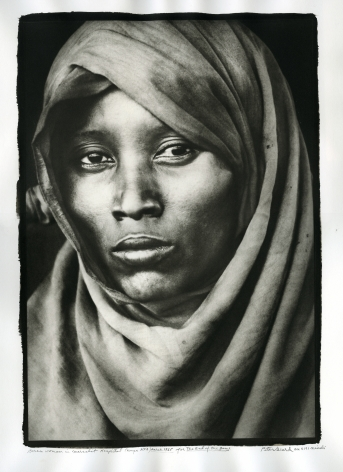 Boran Woman at Marsabit Hospital, 1968