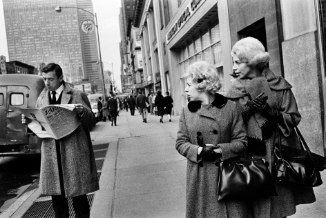 Yves Montand, NY, 1961, Silver Gelatin Photograph