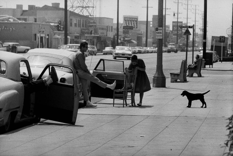 Street Scene (La Cienega and Rosewood Ave., Los Angeles), 1961-67