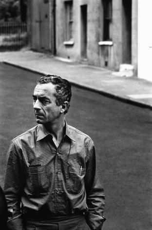 Michelangelo Antonioni, London, 1964, Silver Gelatin Photograph