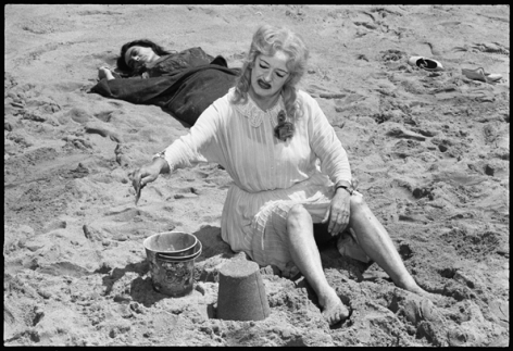 """What Ever Happened to Baby Jane,"" Joan Crawford and Bette Davis, 1962, 16 x 20 Silver Gelatin Photograph"