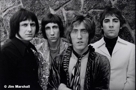 The Who, San Francisco, 1967, 11 x 14 Silver Gelatin Photograph