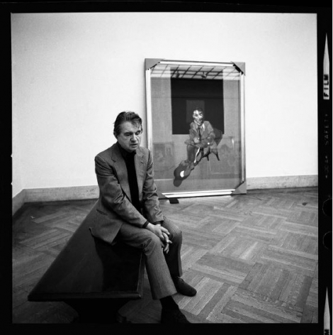 Francis Bacon, New York City, 1975, Archival Pigment Print
