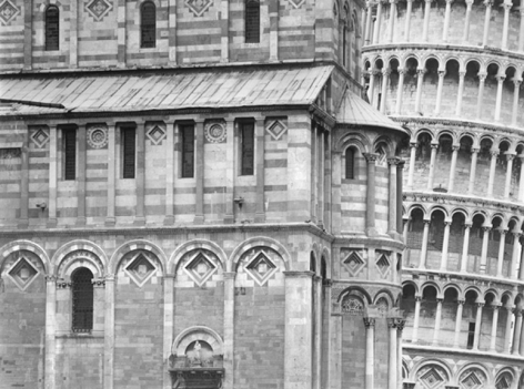 Pisa, 2000, 22 x 28 Inches, Silver Gelatin Photograph