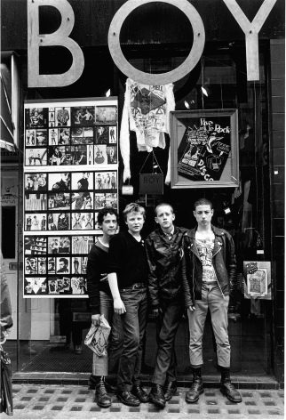 Boy, Kings Road, London, 1979, 20 x 16inches - Archival Pigment Print - Edition of 50