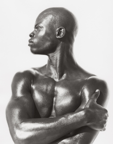 Djimon - Profile, Hollywood (b), 1989, 14 x 11 Inches, Silver Gelatin Photograph, Edition of 2