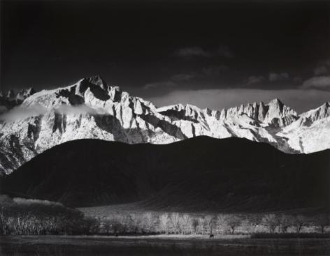 Ansel Adams Winter Surprise, Sierra Nevada, from Lone Pine, California, 1944