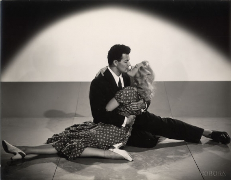 """Cornell Wilde & Pat Knight, """"The Lovers,"""" 1948, 10-7/8 x 13-3/8 Vintage Silver Gelatin Photograph"""