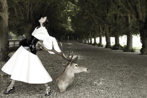 Untitled II, Olga Serova in Christian Dior, Tatler, 2008