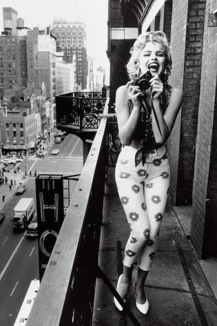 Chelsea Hotel, Eva Herzigova, New York, 1991, 20 x 16 Silver Gelatin Photograph, Ed. 15