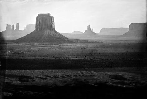 The Searchers, Monument Valley, 2014, Unique Collodion Wet Plate