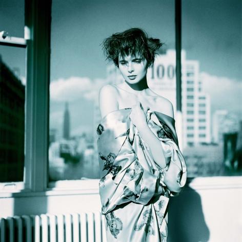 Isabella Rossellini, Kimono, New York, 1988, Archival Pigment Print