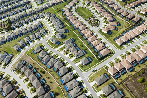A planned community in Orlando, Florida, 2011, 26 3/4 x 40 Inches, Archival Pigment Print, Combined Edition of 25