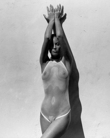 Christy in White 1, Los Angeles, 1988, 14 x 11 Inches, Silver Gelatin Photograph, Edition of 9