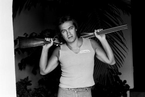 Bernie Taupin, Los Angeles, 1980, Silver Gelatin Photograph