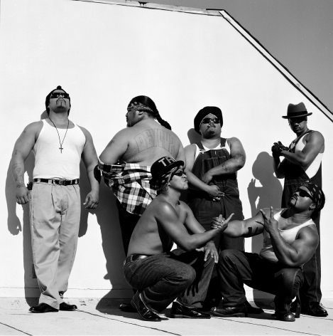 Boo-Yaa T.R.I.B.E., Los Angeles, 1990, 16 x 20 inches - Archival Pigment Print - Edition of 50